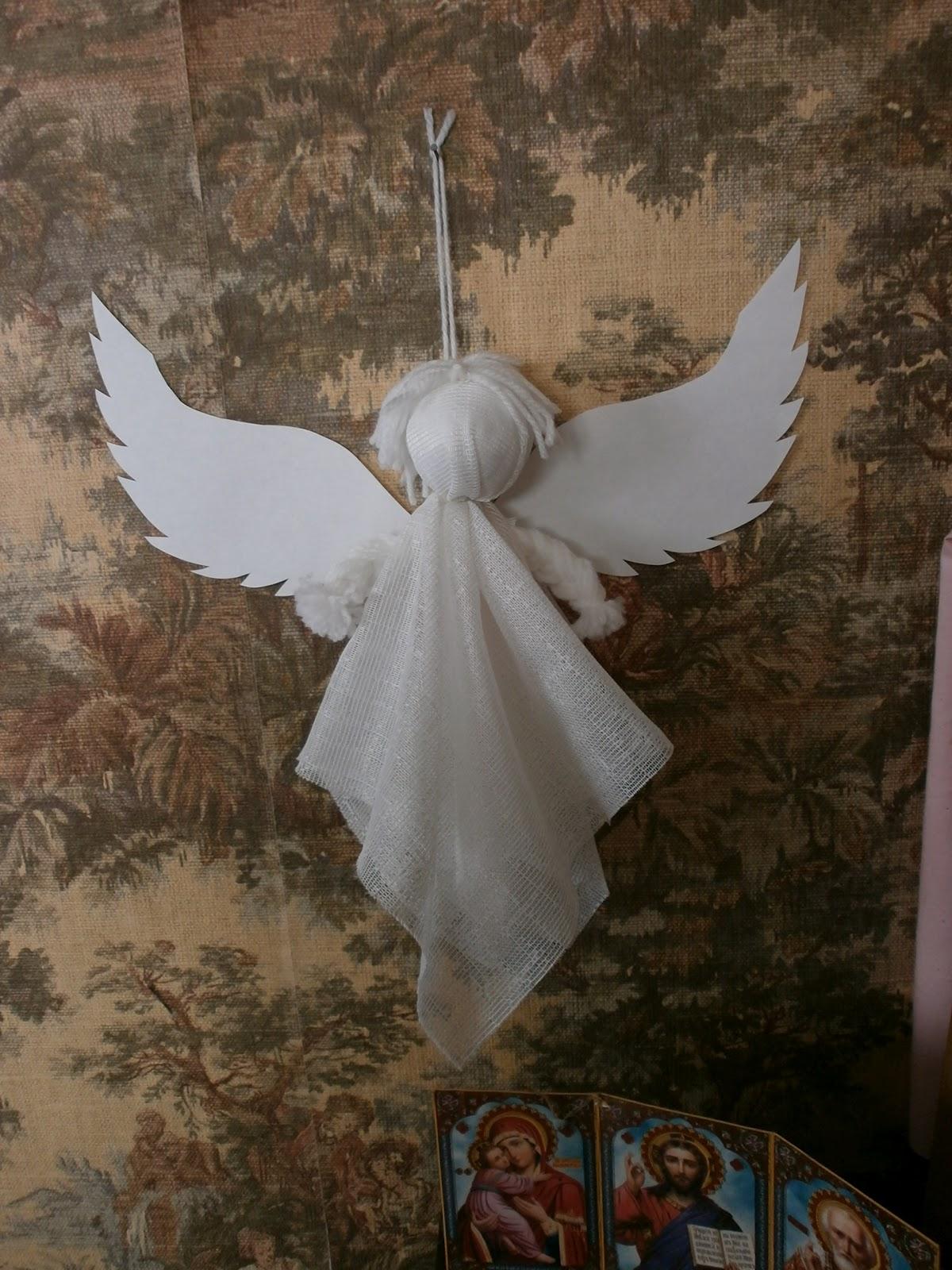 Фото ангелов сделанных своими руками