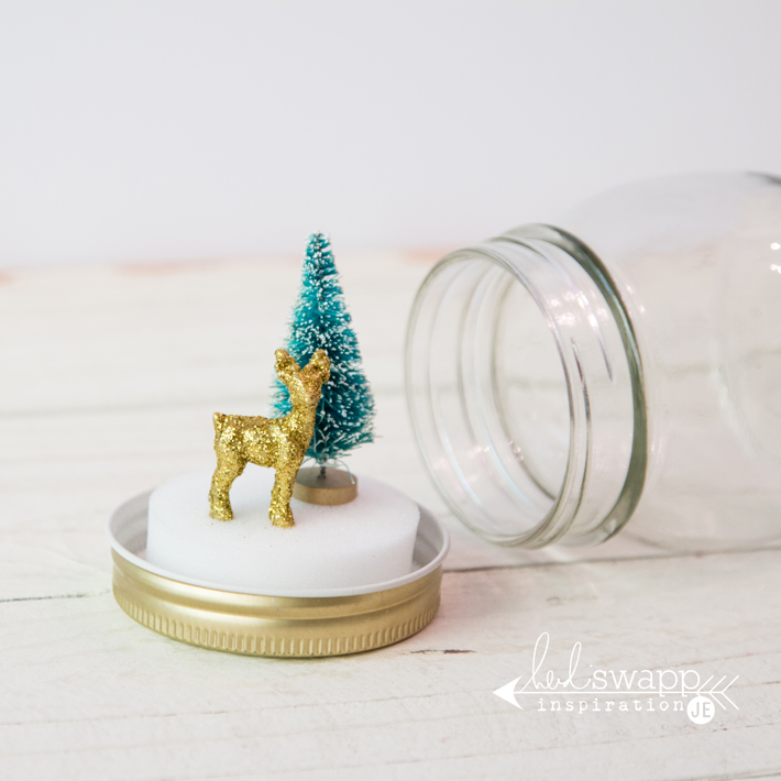 how to make real snow globes
