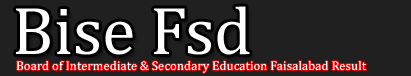 BISE Faisalabad SSC Part 1, 2 Date Sheet 2013