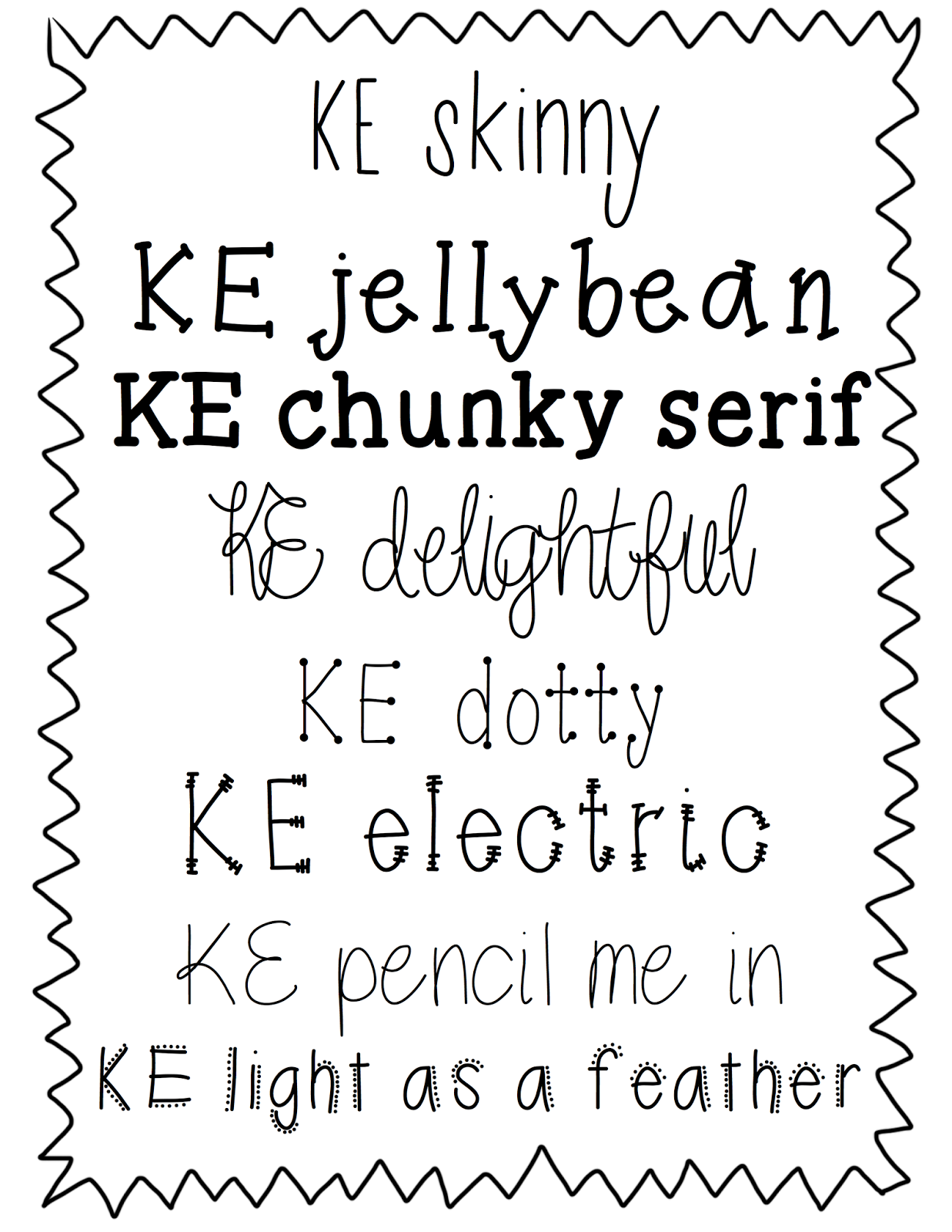 More free fonts! | The Therapeutic Teacher