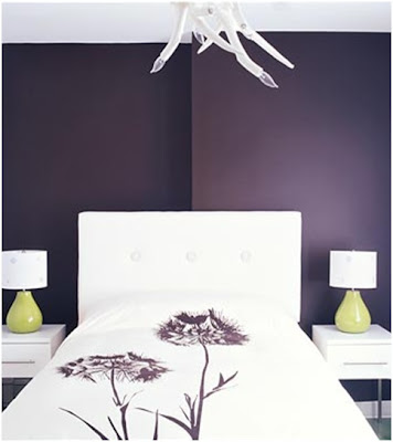 VIOLET BEDROOMS PURPLE DORMITORIES LILAC ROOMS - Ideas to decorate