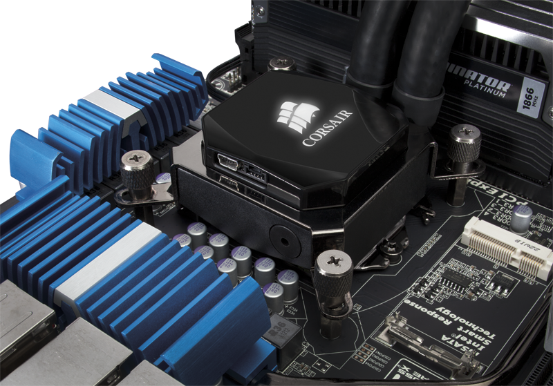 Corsair H80i H100i Liquid CPU Coolers