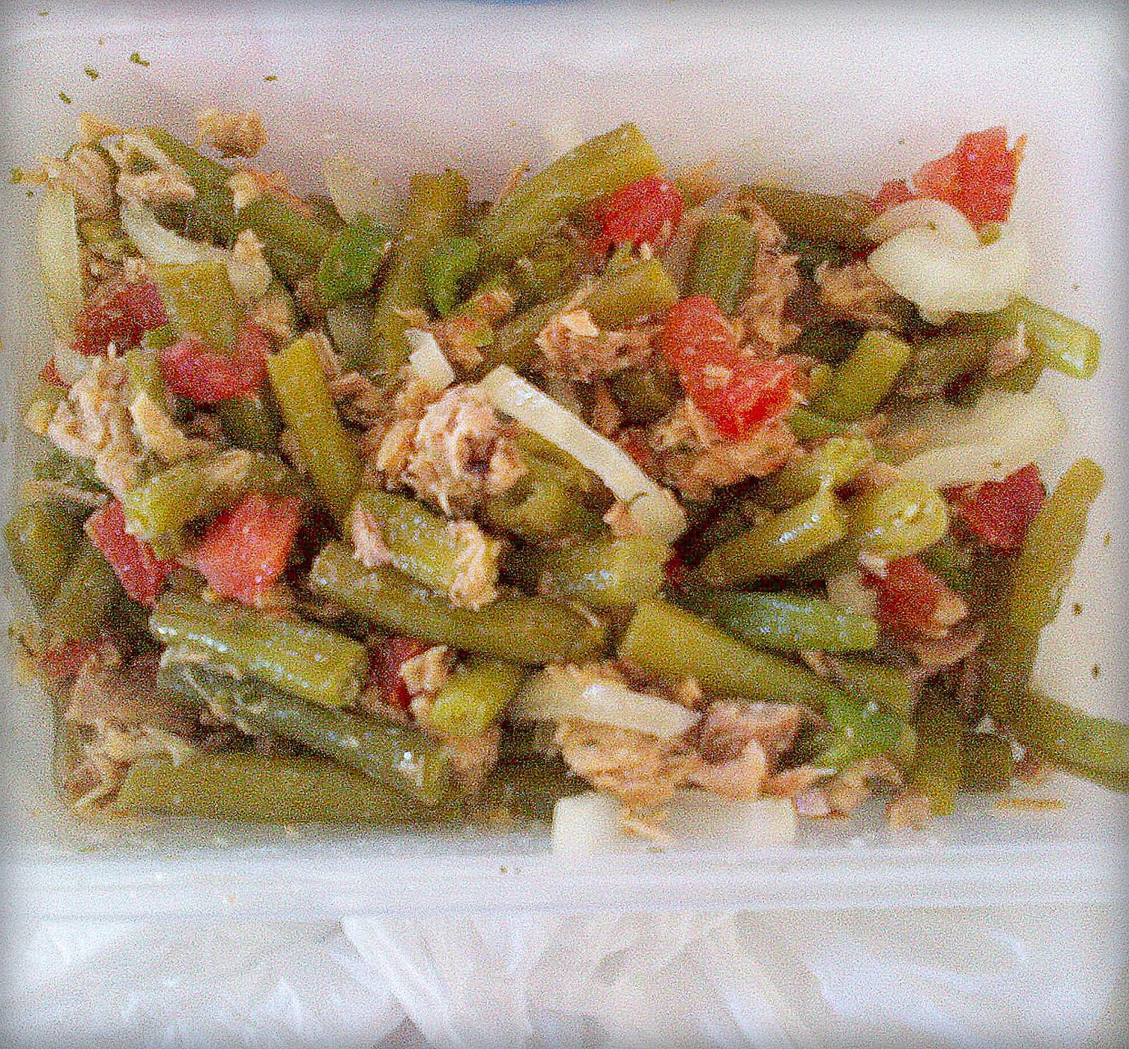 Tu cocina light ensalada de judias verdes con atun - Ensalada de judias verdes arguinano ...