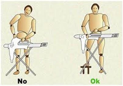 Seguridad higiene industrial ergonomia en el hogar for Ejemplos de muebles ergonomicos