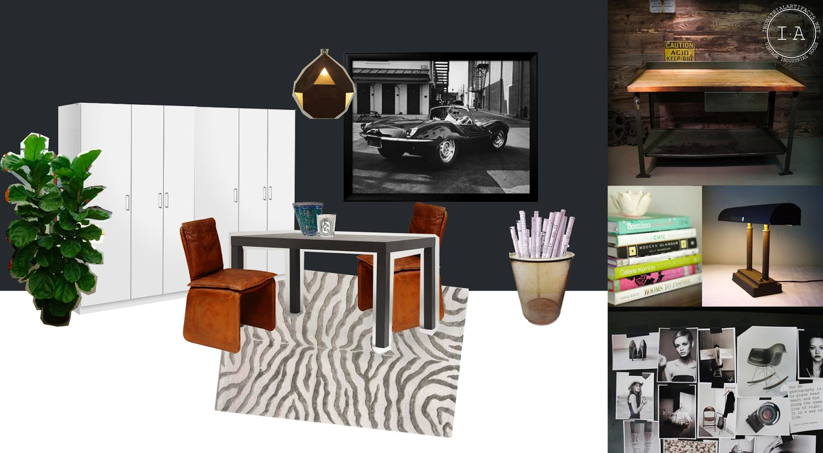 Interior Design Internship Dream Office Moodboards