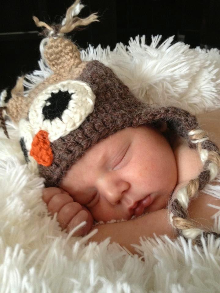 Knotty Knotty Crochet Hoot Hoot Owl Hat Free Pattern