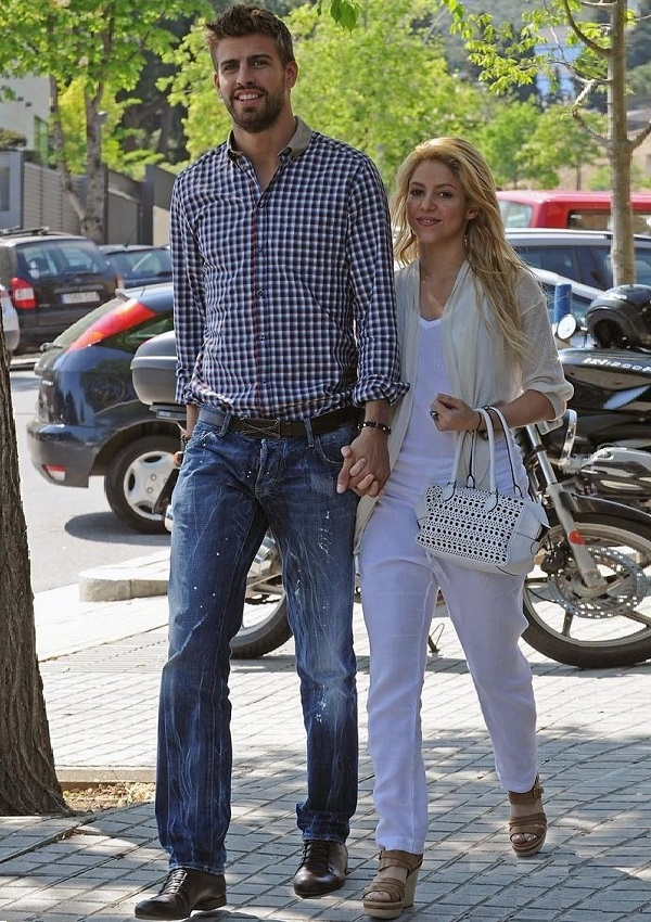 Gerard Pique And Shakira Height Difference