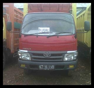 IKLAN BISNIS SAMARINDA: Dijual Truck Toyota Dyna Bak Kayu 130HT 2010 ...