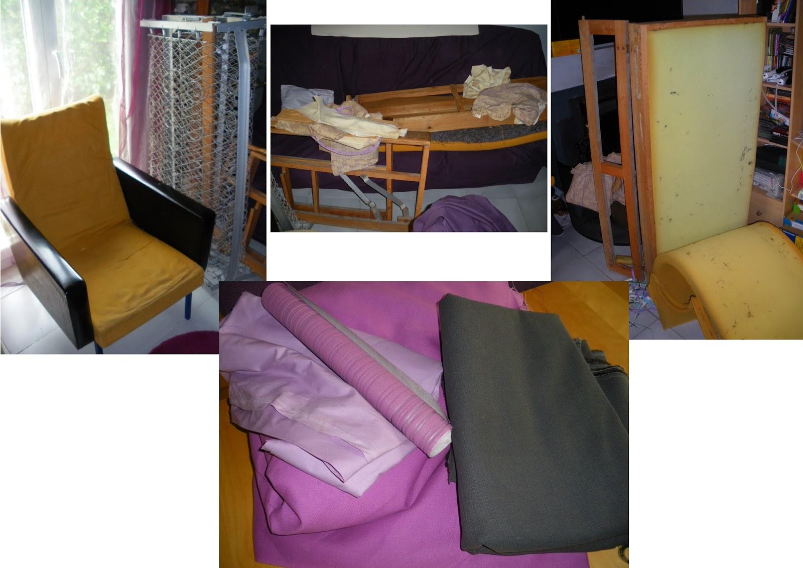 les bricol 39 d 39 la tortue r novation canap et fauteuil. Black Bedroom Furniture Sets. Home Design Ideas