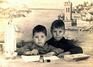 """ANTONIO PEREA ACOSTA """"EL FOTI"""" Y SU HERMANO AÑO 1955"""