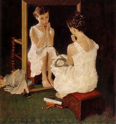 La mode au fil de l 39 histoire reflets de mode le miroir for Venus au miroir