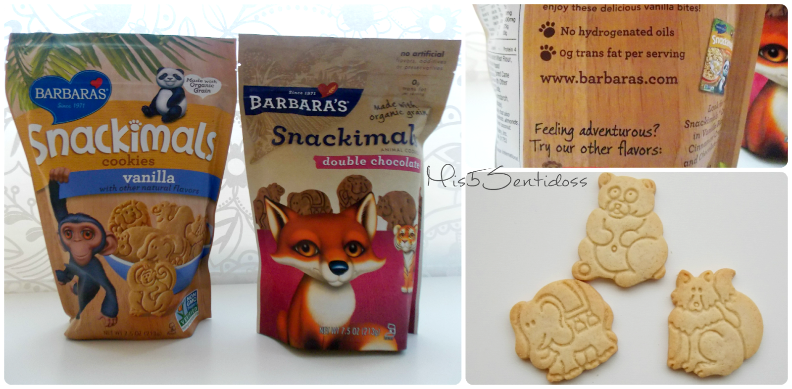 Iherb Galletas Barbara´s Snackimals