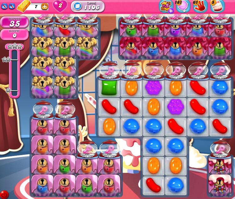 Candy Crush Saga 1106