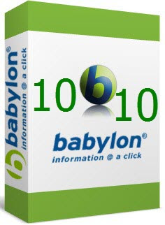 Babylon Pro Dictionary 10 Cover