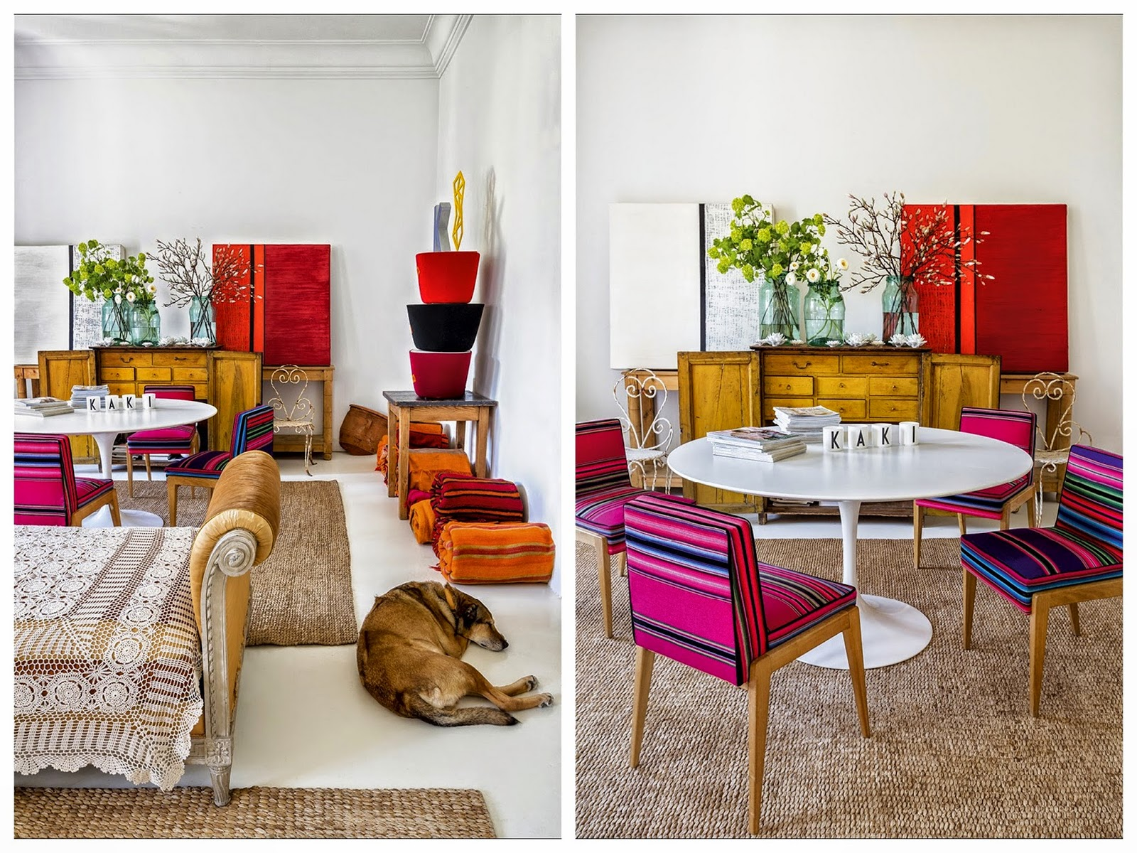 madrid,appartement,déco,couleurs,bohèmemadrid,appartement,déco,couleurs,bohème