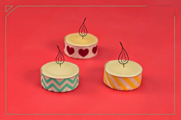 manualidades para san valentin lindas velas decoradas - Velas Decoradas