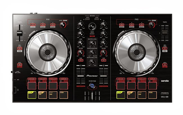Pioneer announced a new DJ controller aimed at entry-level DJs