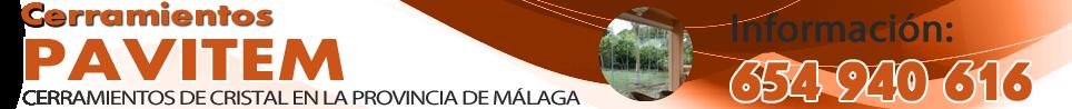 Cerramientos de cristal Málaga | PRESUPUESTO GRATIS