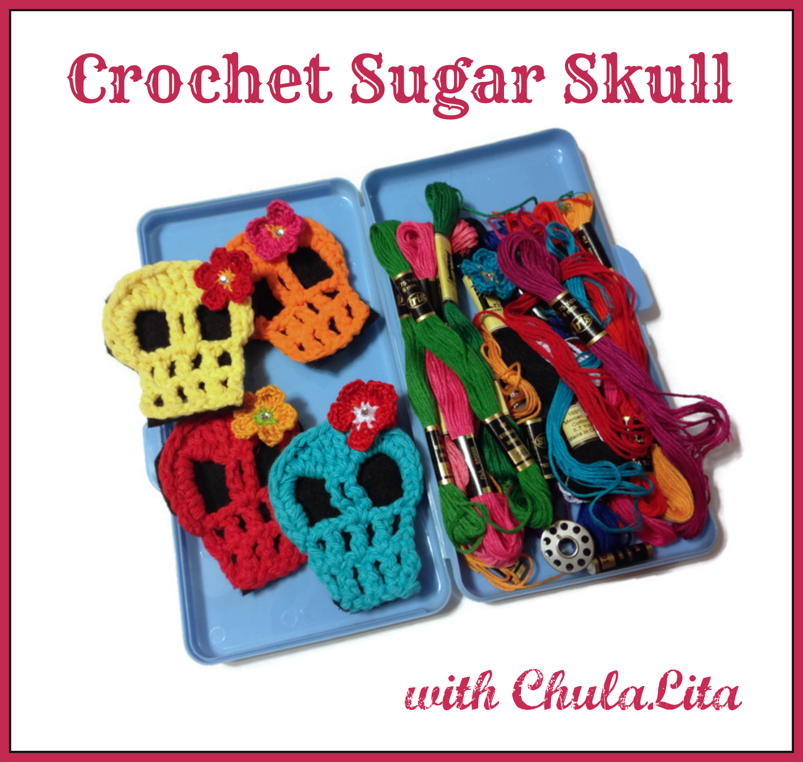 Crochet Sugar Skull Workshop with ChulaLita Make Your Wink Workshops Wink Artisans