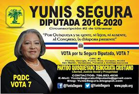 VOTA 7 PARA DIPUTADO EN EXTERIOR