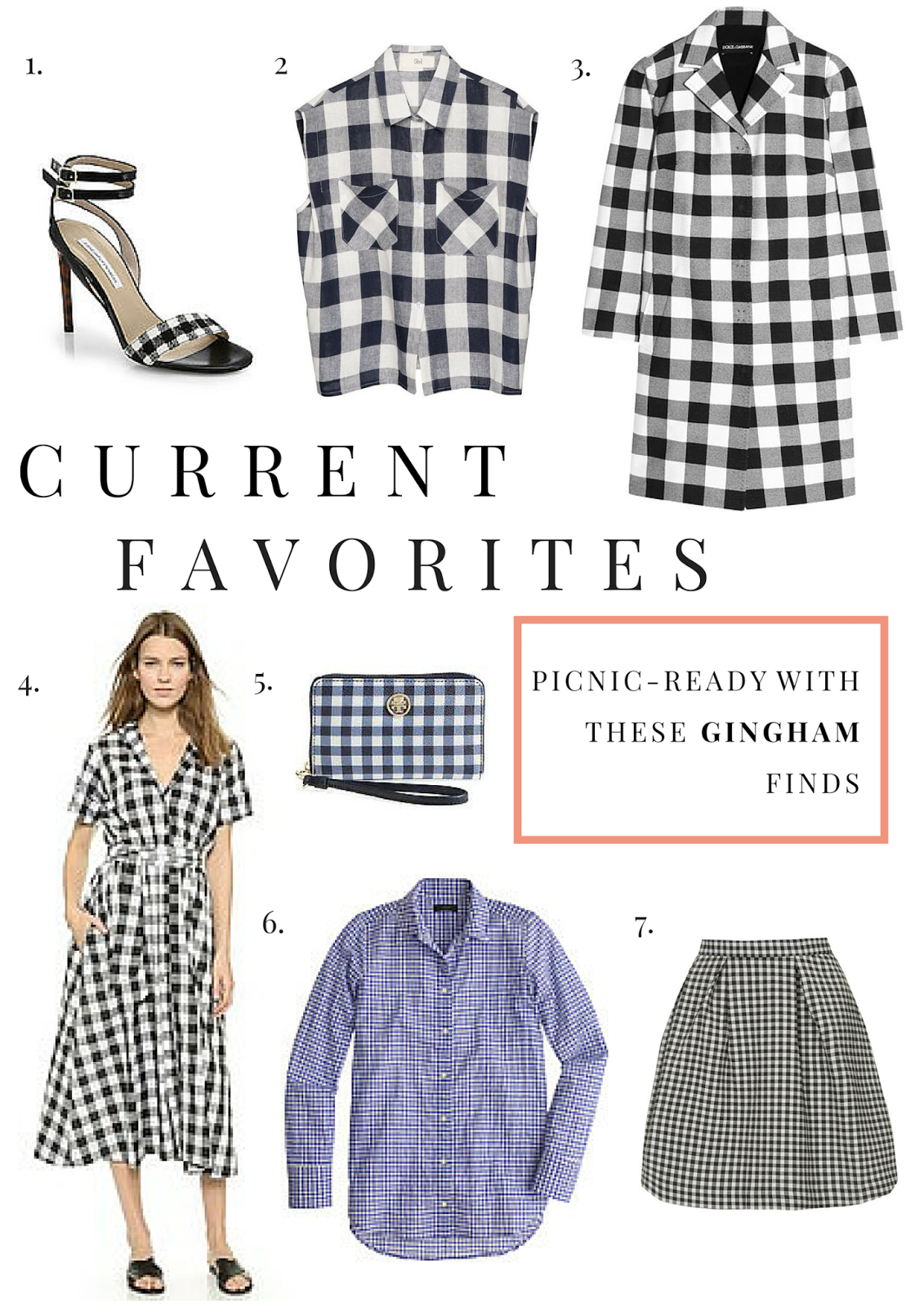 Gingham, Fashion, Style, Spring, Project Soiree