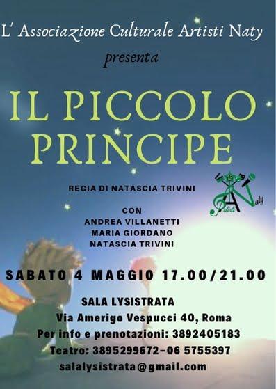 spettacolo teatrale, IL PICCOLO PRINCIPE