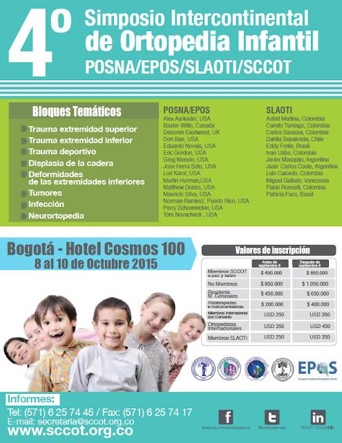 4 Simposio Intercontinental de Ortopedia Infantil