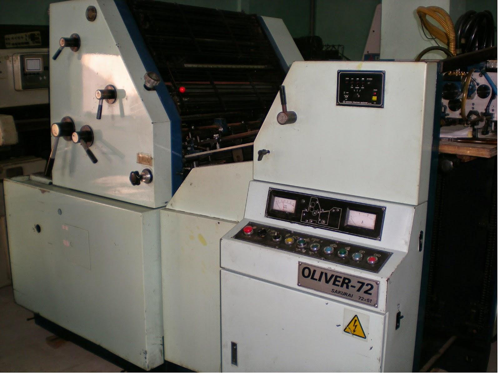 mesin offset printing