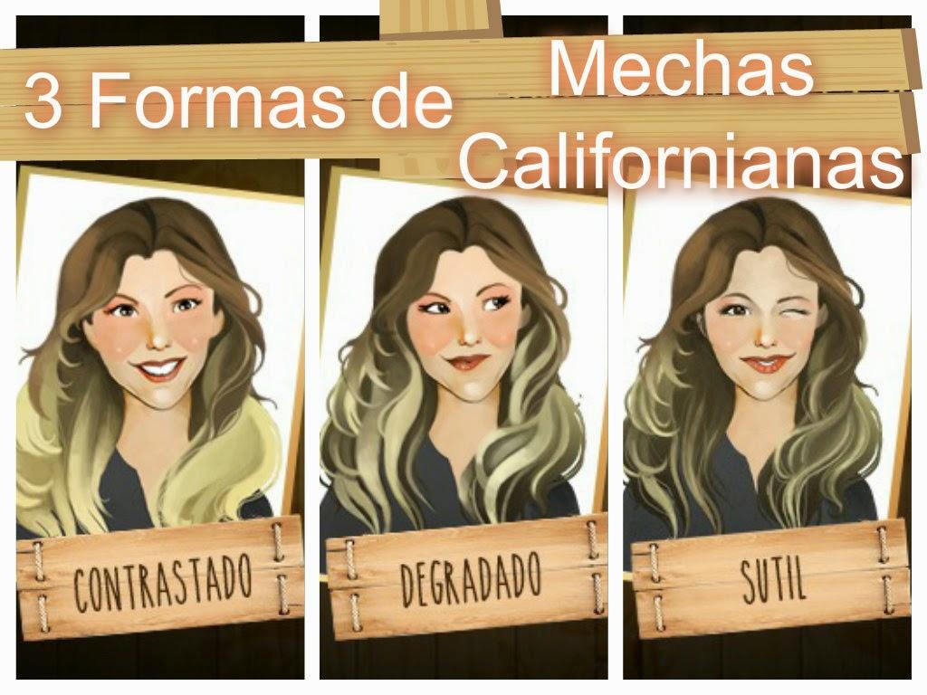 Creaciones kevari ax mechas californianas en casa con el kit loreal par s - Como darse mechas en casa ...