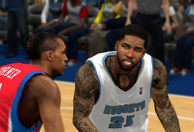 NBA 2K13 Wilson Chandler Cyberface Patch