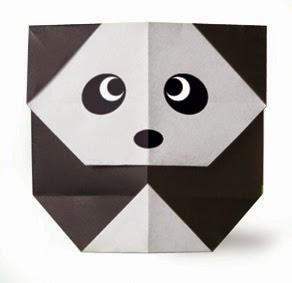 Hướng dẫn cách gấp con gấu trúc Panda bằng giấy đơn giản - Xếp hình Origami với Video clip