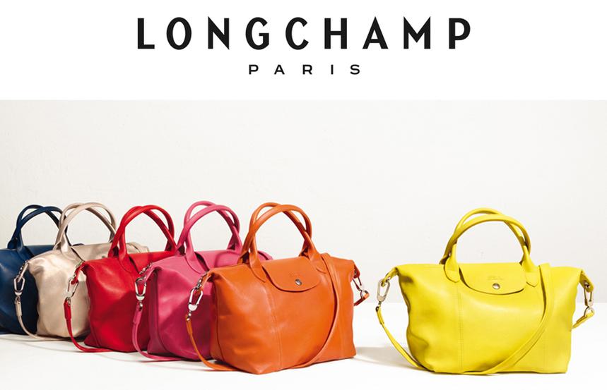 Longchamp Le Pliage Cuir Schwarz