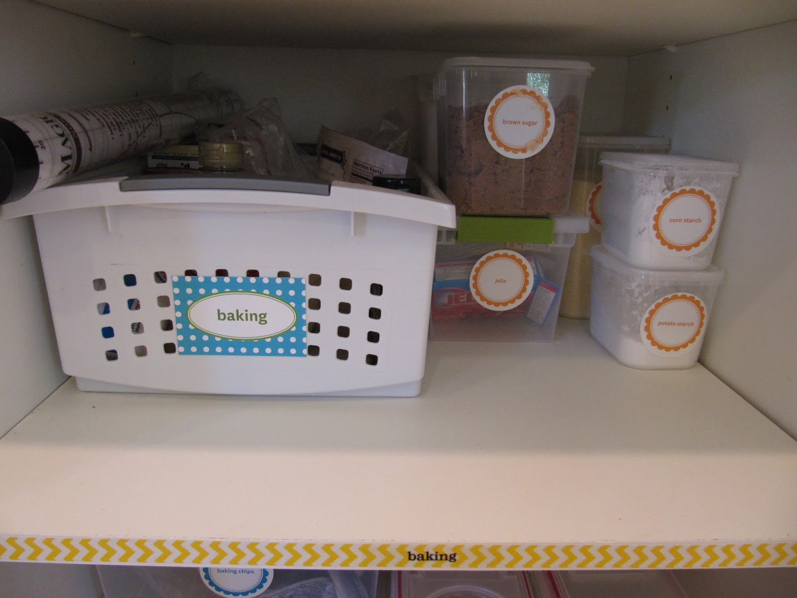 everyday organizing: {an organized kitchen} the pantry part ii