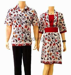 Foto Baju Batik Pekalongan Pasangan