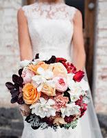 Hoa cưới kiểu tròn 4