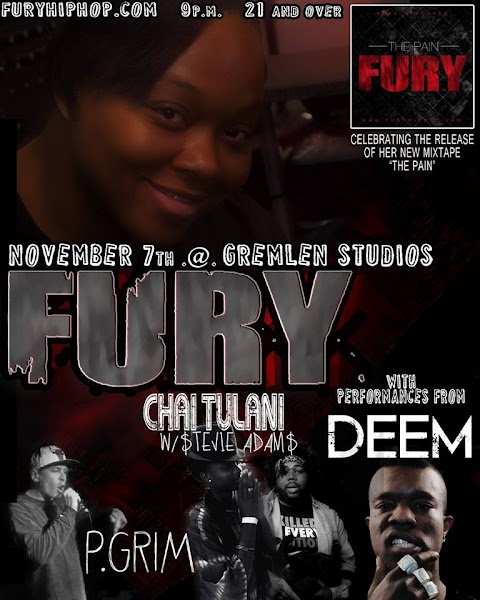 "CHICAGO EVENT: FURY ""THE PAIN"" MIXTAPE RELEASE PARTY"