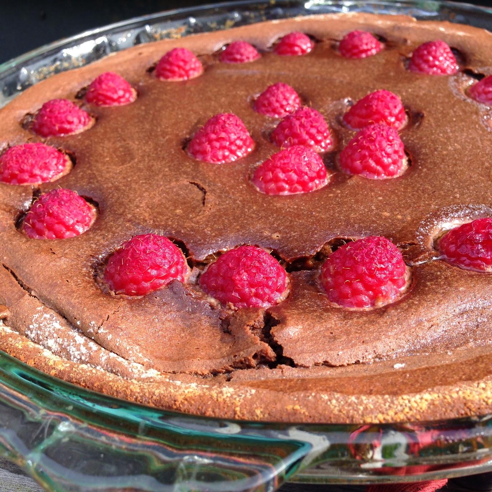 Jenny Bakes: Raspberry Chocolate Clafoutis - Paleo, Low-Sugar, Gluten ...