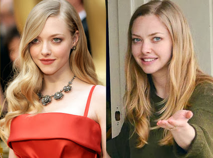 Amanda Seyfried with or without makeup