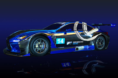 Lexus RC F GT3 2016 Front Side
