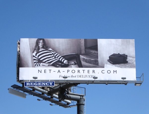 Net-A-Porter womenswear FW15 billboard