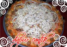 Gambar Masakan Pizza Sosis Jagung Dapur Cantik