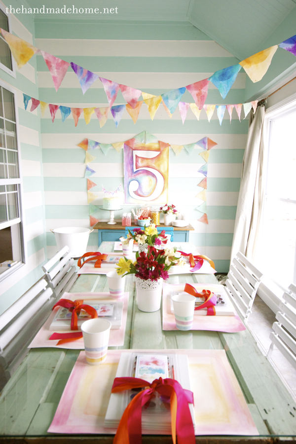 Lovely Springtime Birthday Party Themes For Girls