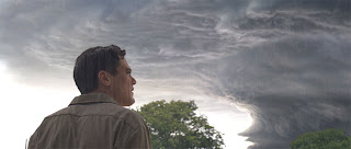 Michael Shannon looks to the sky in TAKE SHELTER
