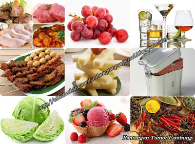 Makanan Yang Harus Dihindari Oleh Penderita Tumor Lambung