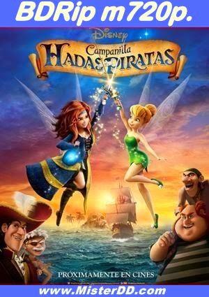 Campanilla, hadas y piratas (2014) [BDRip m720p.]