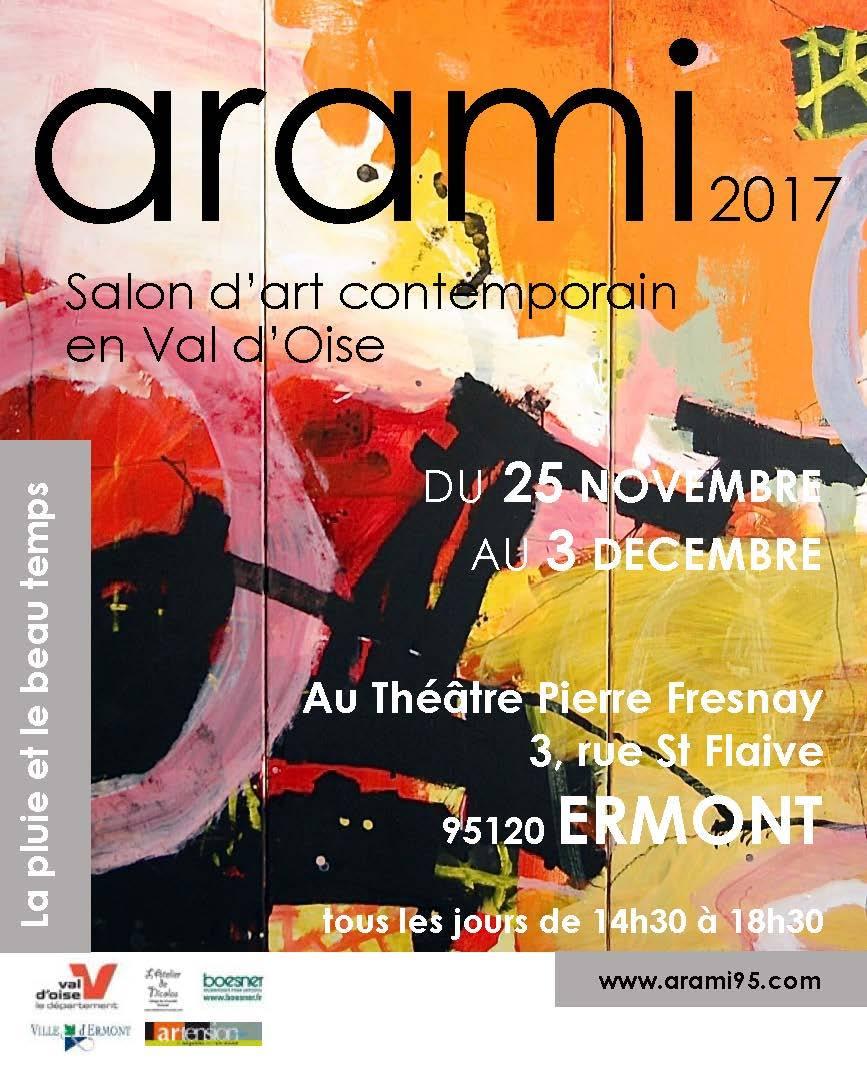ERMONT : CAPTON AU SALON ARAMI DU 25 NOVEMBRE AU 3 DÉCEMBRE 2017