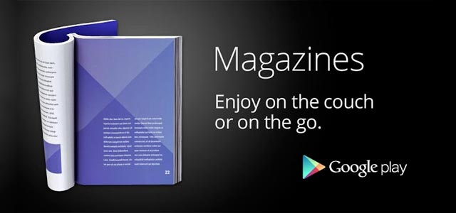 google play magazine launched