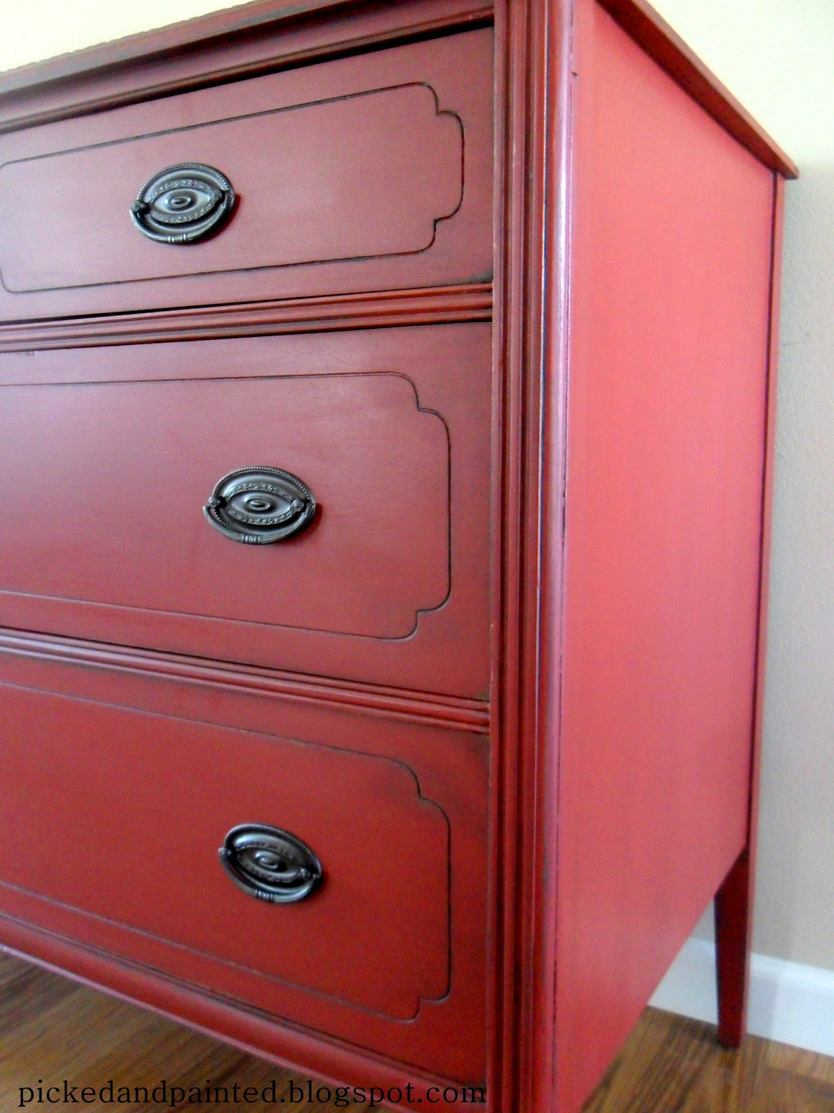 helen nichole designs custom red buffet birthday gift. Black Bedroom Furniture Sets. Home Design Ideas