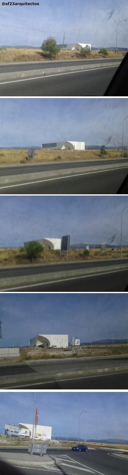 El cat de chipperfield en segovia arquitectura segovia - Arquitectos en segovia ...