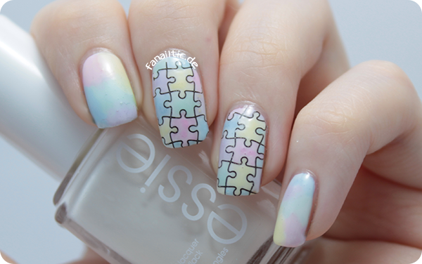 DIY sheer tints + MoYou London princess 10 puzzle stamping